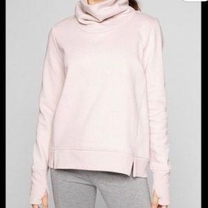 Athleta funnel neck sweatshirt
